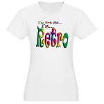 I'm Not Old, I'm Retro Jr. Jersey T-Shirt