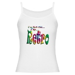 I'm Not Old, I'm Retro Jr. Spaghetti Tank