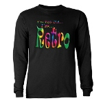 I'm Not Old, I'm Retro Long Sleeve Dark T-Shirt