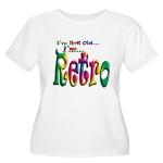 I'm Not Old, I'm Retro Women's Plus Size Scoop Nec