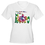 I'm Not Old, I'm Retro Women's V-Neck T-Shirt