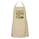 Jesus Therapy BBQ Apron
