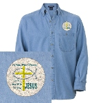 Jesus Therapy Denim Shirt