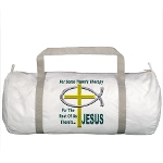 Jesus Therapy Gym Bag