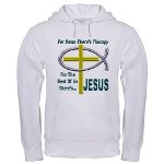 Jesus Therapy Hooded Sweatshirt