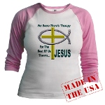 Jesus Therapy Jr. Raglan