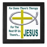 Jesus Therapy Keepsake Box