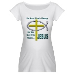 Jesus Therapy Maternity T-Shirt
