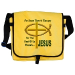 Jesus Therapy Messenger Bag