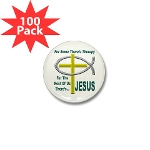 Jesus Therapy Mini Button (100 pack)