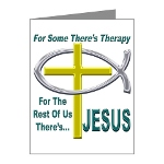 Jesus Therapy Note Cards (Pk of 20)