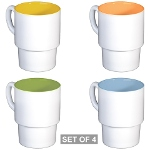 Jesus Therapy Stackable Mug Set (4 mugs)