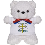 Jesus Therapy Teddy Bear