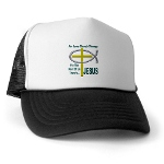 Jesus Therapy Trucker Hat