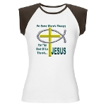 Jesus Therapy Women's Cap Sleeve T-Shirt
