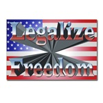 Legalize Freedom Postcards (Package of 8)