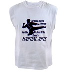 Martial Arts Therapy Men's Muscle Tee