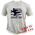 Martial Arts Therapy Organic Cotton Tee