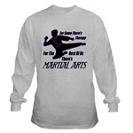 Martial Arts Therapy Long Sleeve T-Shirt