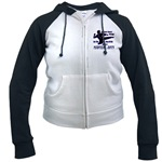 Martial Arts Therapy Women's Raglan Hoodie