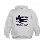 Martial Arts Therapy Kids Hoodie
