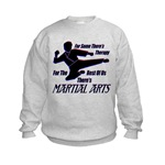 Martial Arts Therapy Kids Sweatshirt