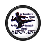 Martial Arts Therapy Wall Clock