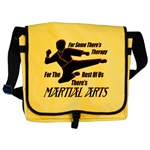 Martial Arts Therapy Messenger Bag