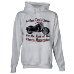Motorcycle Therapy Hooded Sweatshirt