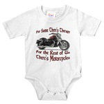 Motorcycle Therapy Infant Bodysuit
