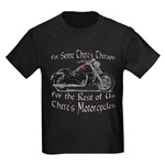 Motorcycle Therapy Kids Dark T-Shirt