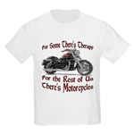 Motorcycle Therapy Kids Light T-Shirt