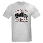 Motorcycle Therapy Light T-Shirt