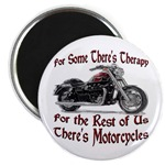 Motorcycle Therapy Magnet