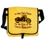 Motorcycle Therapy Messenger Bag