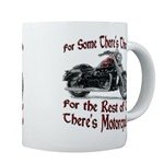 Motorcycle Therapy Mug