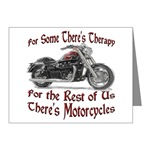 Motorcycle Therapy Note Cards (Pk of 10)