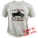 Motorcycle Therapy Organic Cotton Tee
