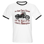 Motorcycle Therapy Ringer T