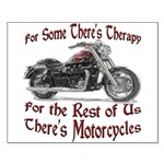 Motorcycle Therapy Small Poster