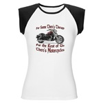 Motorcycle Therapy Women's Cap Sleeve T-Shirt