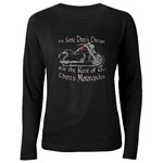 Motorcycle Therapy Women's Long Sleeve Dark T-Shir