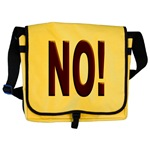 No, Nein, Non, Nyet, Nope Messenger Bag