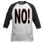 No, Nein, Non, Nyet, Nope Baseball Jersey