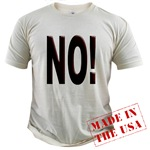 No, Nein, Non, Nyet, Nope Organic Cotton Tee