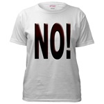 No, Nein, Non, Nyet, Nope Women's T-Shirt