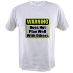 Does not play well with others Value T-shirt