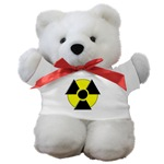 3D Radioactive Symbol Teddy Bear