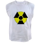 3D Radioactive Symbol Men's Muscle Tee