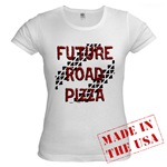 Future Road Pizza Jr. Baby Doll T-Shirt